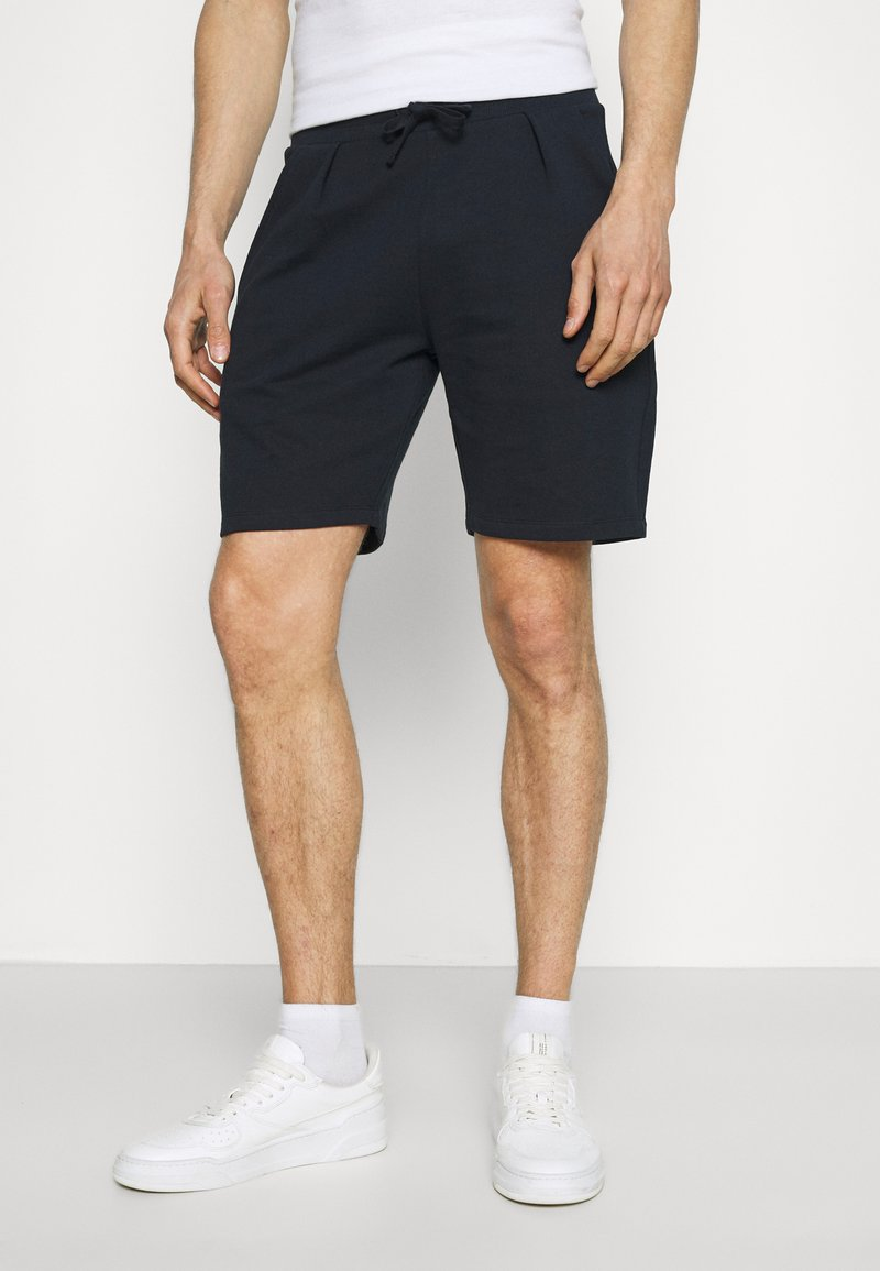 Lindbergh - PIGMENT DYED - Shorts - navy
