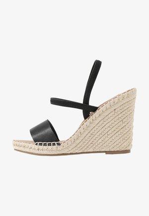 MCKENZIE - Sandály na vysokém podpatku - black