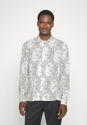 FACE - Overhemd - off white/black