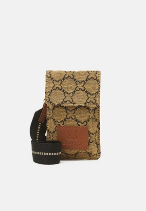 LOGO SMALL MOBILE BAG - Obal na telefon - camel
