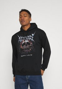 Mennace - FORGOTTEN PAST HOODIE - Sweatshirt - black - 0