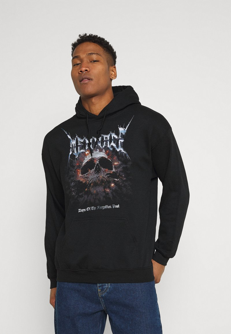 Mennace - FORGOTTEN PAST HOODIE - Sweatshirt - black