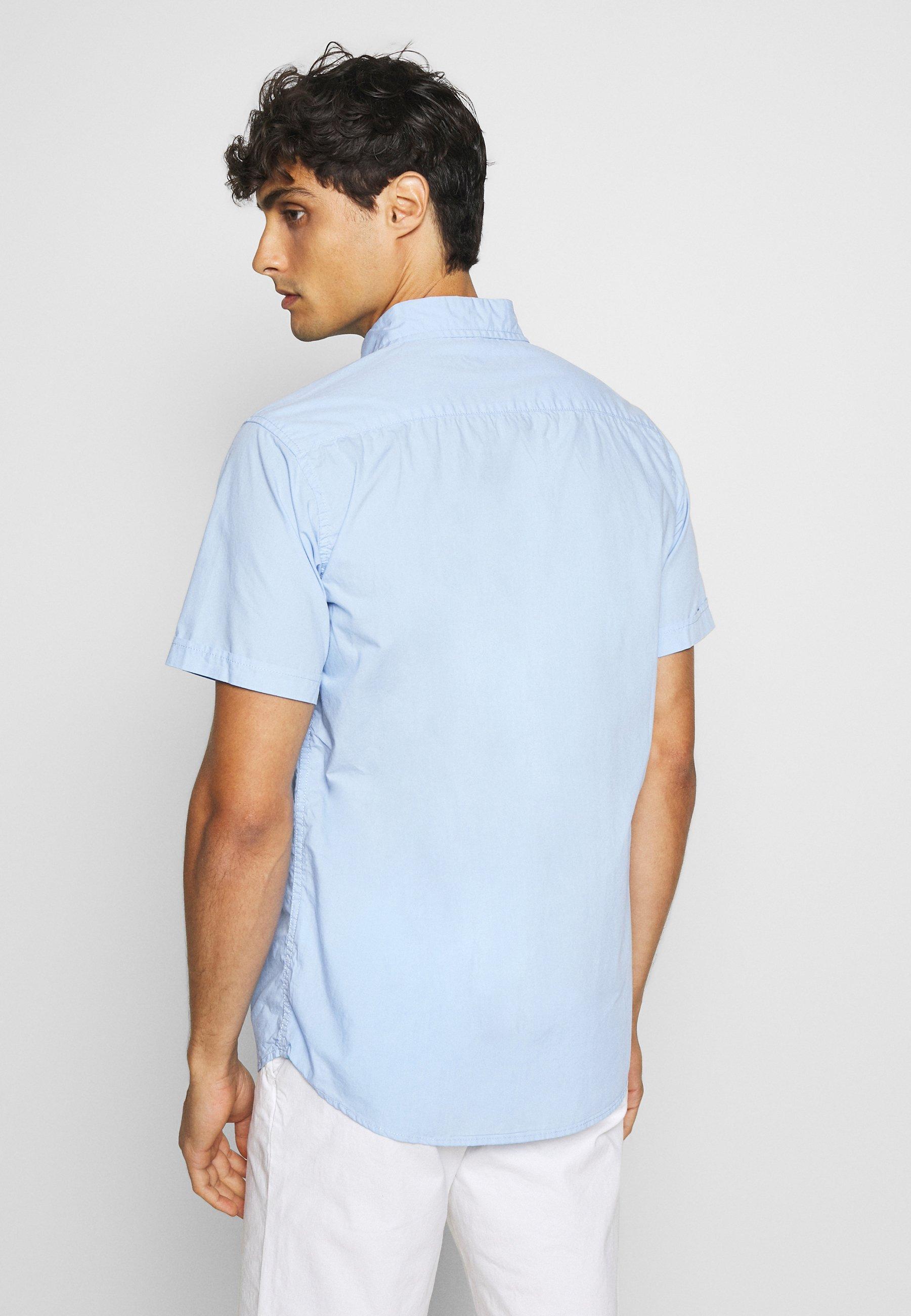 Schott Camicia - sky blue - Abbigliamento da uomo Cercando