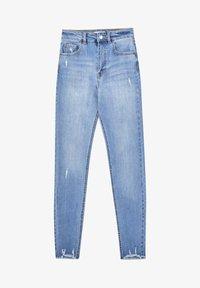 PULL&BEAR - SKINNY HIGH WAIST - Jeans Skinny Fit - blue - 7