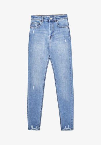 SKINNY HIGH WAIST - Jeans Skinny Fit - blue