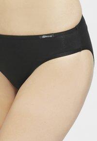 Skiny - DAMEN RIO SLIP 3ER PACK - Briefs - black - 3