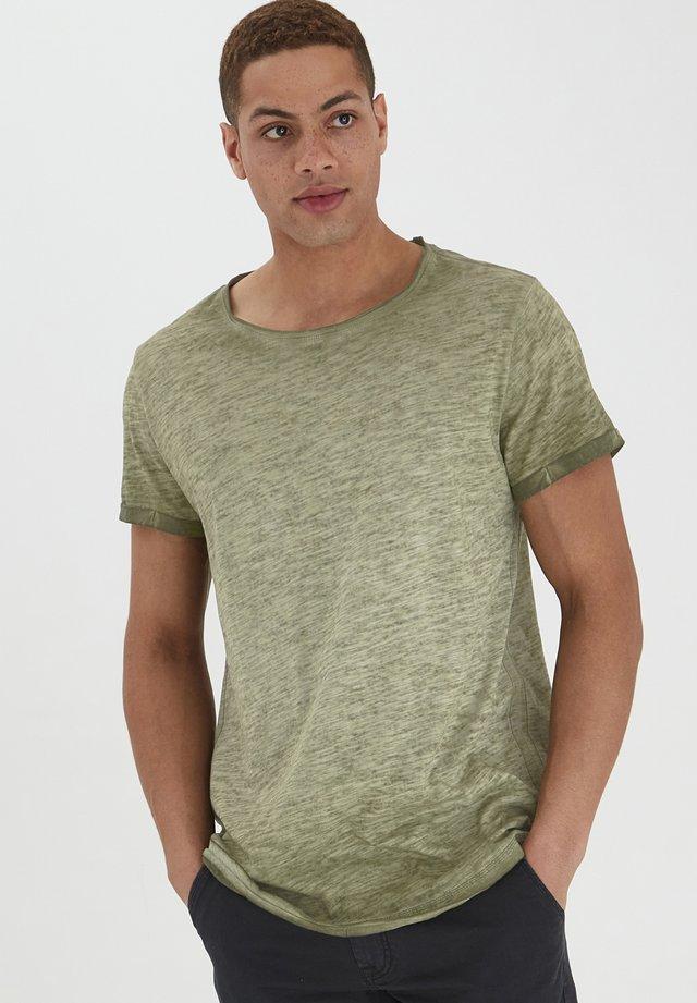 MINO - Basic T-shirt - dusty olive green