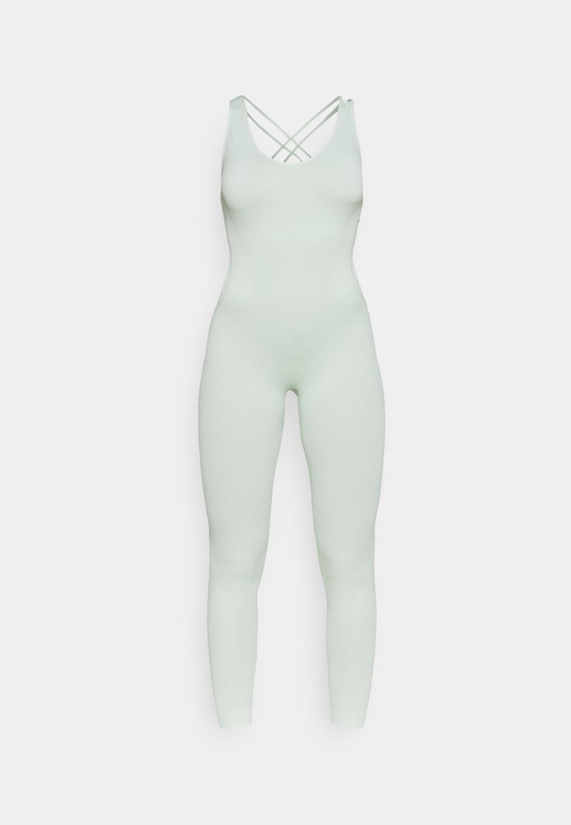 NU-IN - CROSS BACK LONG BODYSUIT - Gym suit - green