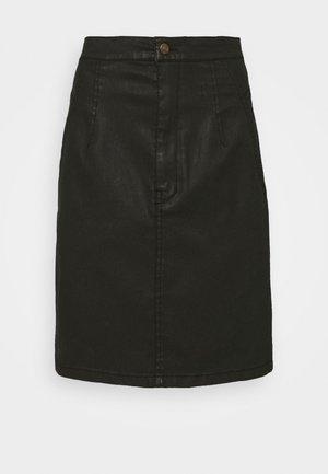 BELOU - Mini skirt - schwarz