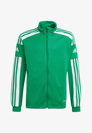 Training jacket - gruenweiss