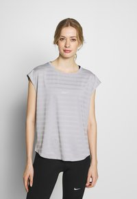 Even&Odd active - Print T-shirt - grey - 0