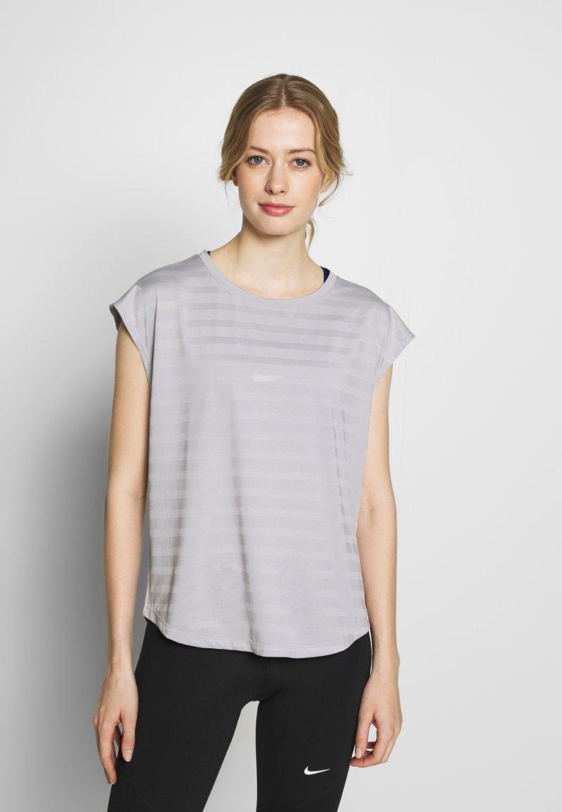 Even&Odd active - Print T-shirt - grey