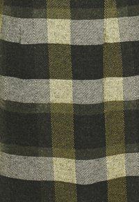TOM TAILOR - DRESS  - Jumper dress - black/yellow - 2
