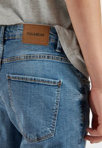 PULL&BEAR - Slim fit jeans - dark blue - 4