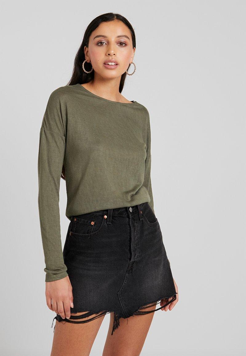 ONLY - ONLCAMI - Long sleeved top - kalamata