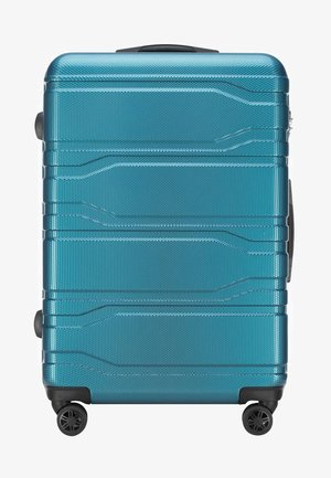 TRAIL STYLE - Wheeled suitcase - blue