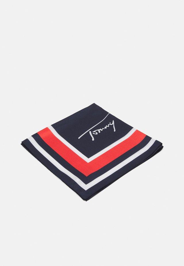 SIGNATURE FOULARD - Šátek - blue