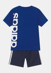 adidas Performance - BRAND SET UNISEX - Pantalón corto de deporte - royal blue/dark blue - 1