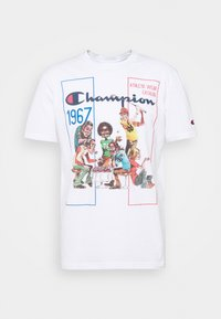 CREWNECK - T-shirt z nadrukiem - white
