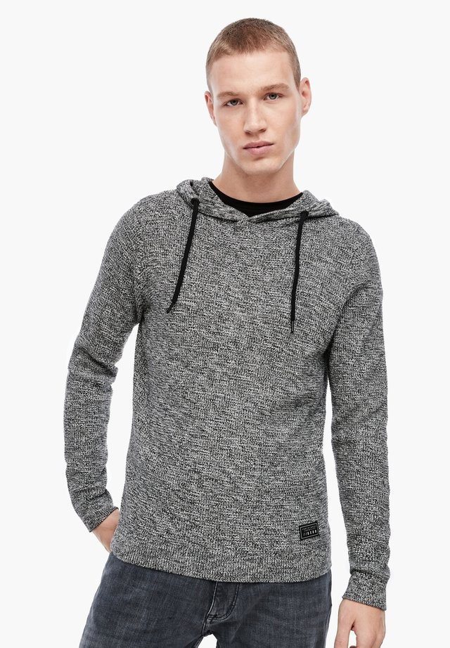 Felpa con cappuccio - dark grey