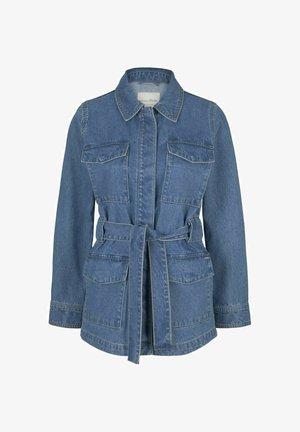 Denim jacket - used mid stone blue denim