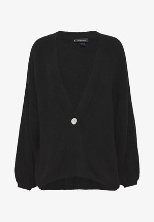 NALA CARDIGAN - Kofta - black dark