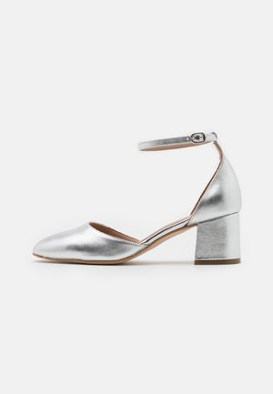 LEATHER - Klassieke pumps - silver