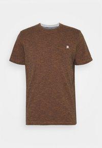 FINELINER WITH POCKET - Print T-shirt - dark orange