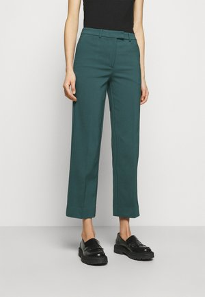NOORA - Trousers - scarab green