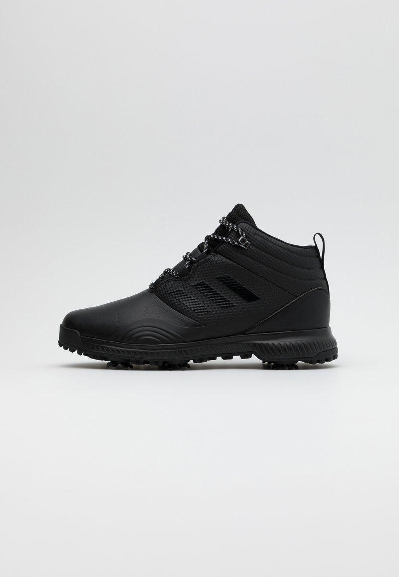 adidas Golf - CLOUDFOAM RAIN.RDY TRAXION SPORTS GOLF SHOES - Zapatos de golf - core black/dark silver metallic