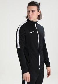 Nike Performance - DRY TRACKSUIT ACADEMY - Tracksuit - black/white - 0