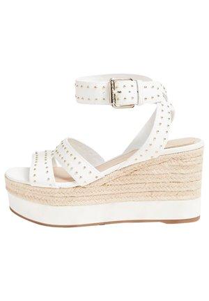 A$AP ROCKY - High heeled sandals - wit
