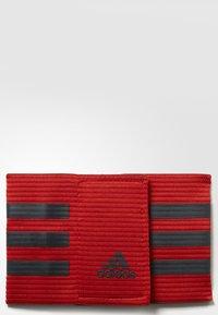adidas Performance - FOOTBALL CAPTAIN'S ARMBAND - Accessoires - Overig - scarlet/dark grey - 2