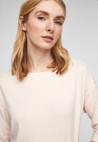 s.Oliver - Long sleeved top - light sand - 3