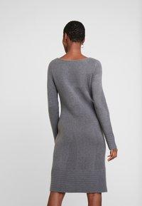 TOM TAILOR - DRESS - Pletené šaty - anthracite melange - 5