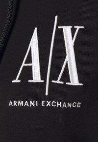 Armani Exchange - FELPA - Mikina na zip - black - 2