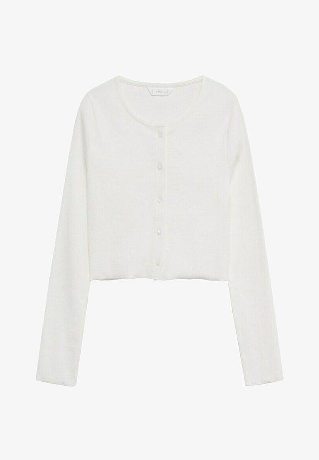 RIBKA - Cardigan - gebroken wit