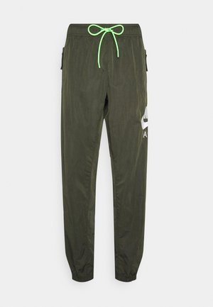 Tracksuit bottoms - sequoia/white