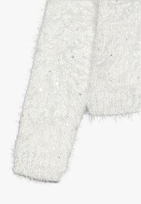 OVS - CARDIGAN SEQUINS - Gilet - snow white - 2