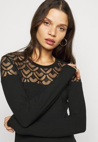 Anna Field Petite - Long sleeved top - black - 3