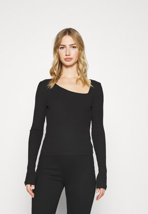 HAILEY  - Long sleeved top - black