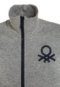 Benetton - Zip-up hoodie - light grey - 3