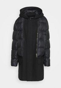 Neil Barrett - HYBRID PUFFER DUFFLE COAT - Zimní kabát - black - 4