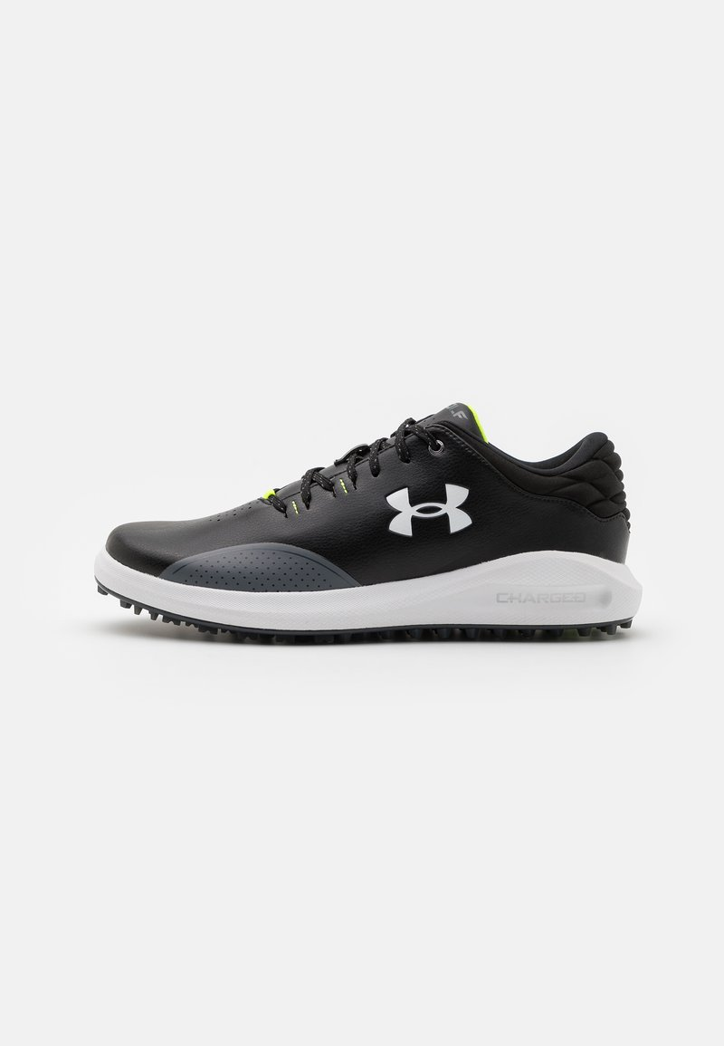 Under Armour - DRAW SPORT - Golf shoes - black