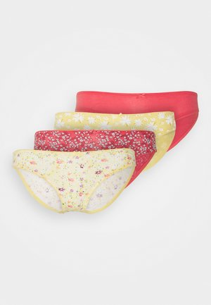 NELL 4 PACK - Braguitas - red