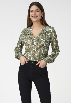 Blouse - paisley army