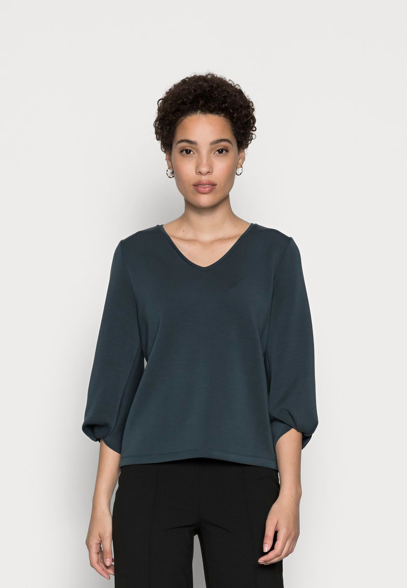 someday. - USOLA - Long sleeved top - pacific