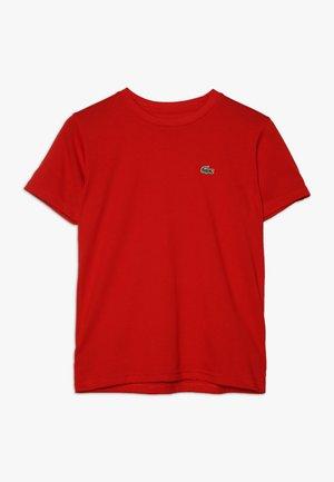 LOGO UNISEX - T-shirt basique - red