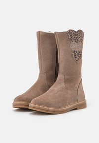 Friboo - LEATHER - Boots - taupe - 1