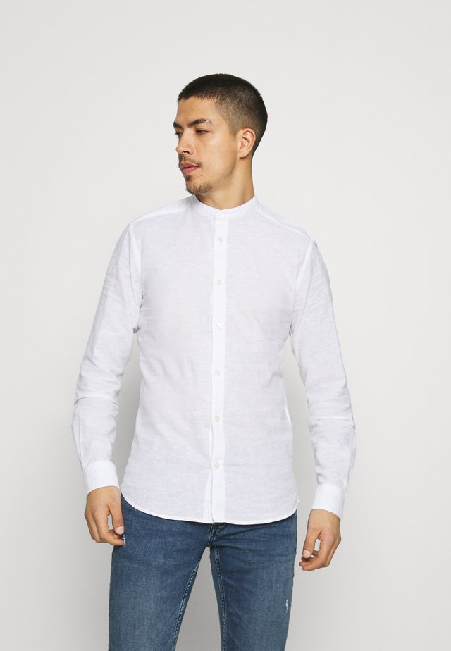 ONSCAIDEN SOLID MAO - Camicia - white